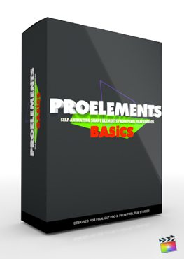 Final Cut Pro X Plugin ProElements Basics from Pixel Film Studios