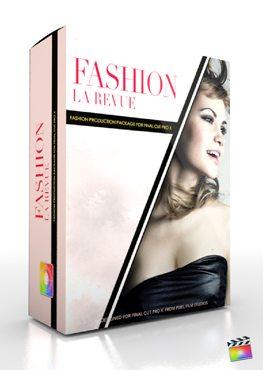 Final Cut Pro X Plugin Production Package Fashion La Revue from Pixel Film Studios