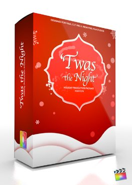 Final Cut Pro X Plugin Production Package Twas The Night from Pixel Film Studios