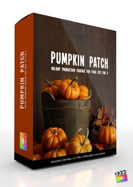 Final Cut Pro X Plugin Production Package Theme Pumpkin Patch from Pixel Film Studios