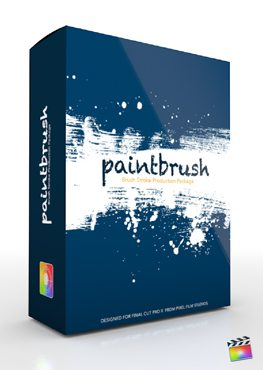 Final Cut Pro X Plugin Production Package Theme Paintbrush from Pixel Film Studios