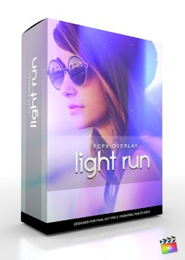 Final Cut Pro X Plugin FCPX Overlay Light Run from Pixel Film Studios