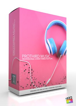 Final Cut Pro X Plugin ProThird Music from Pixel Film Studios