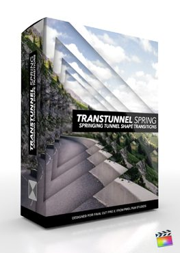 Final Cut Pro X Plugin TransTunnel Spring from Pixel Film Studios