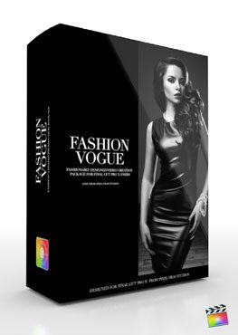 Final Cut Pro X Plugin Production Package Theme Fashion Vogue from Pixel Film Studios