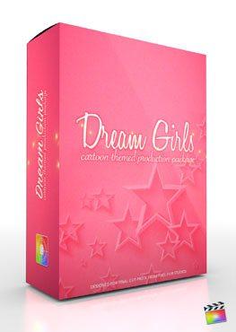 Final Cut Pro X Plugin Production Package Theme Dream Girls from Pixel Film Studios