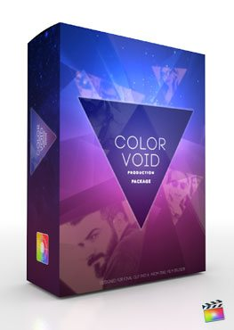 Final Cut Pro X Plugin Production Package Theme Color Void from Pixel Film Studios