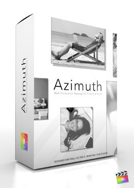 Final Cut Pro X Plugin Production Package Theme Azimuth from Pixel Film Studios