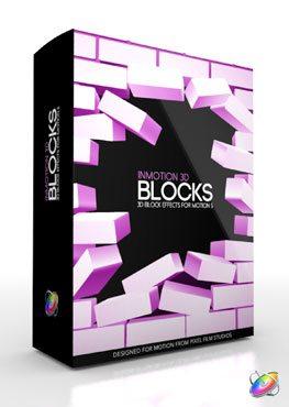 Apple Motion 5 Plugin InMotion 3D Blocks from Pixel Film Studios