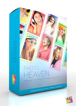 Final Cut Pro X Plugin Production Package Theme Photo Heaven from Pixel Film Studios