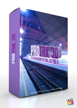 Final Cut Pro X Plugin ProTRK 3D from Pixel Film Studios