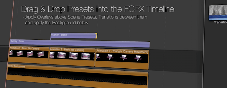 Professional - Retro Theme for Final Cut Pro X