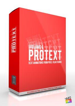 Final Cut Pro X Plugin ProText Volume 6 from Pixel Film Studios