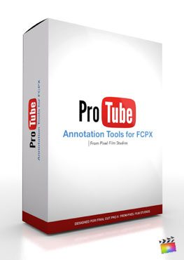 Final Cut Pro X Plugin ProTube Annotate from Pixel Film Studios