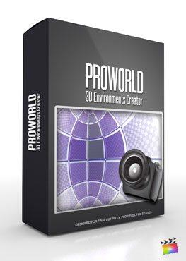 Final Cut Pro X Plugin ProWorld from Pixel Film Studios
