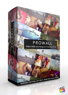 Final Cut Pro X Plugin ProWall from Pixel Film Studios