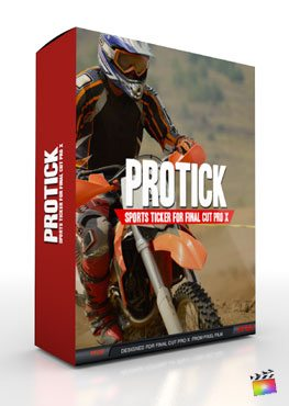Final Cut Pro X Plugin ProTick from Pixel Film Studios