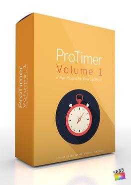 Final Cut Pro X Plugin ProTimer Volume 1 from Pixel Film Studios