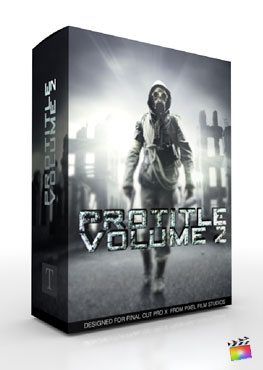 Final Cut Pro X Plugin ProTitle Volume 2 from Pixel Film Studios