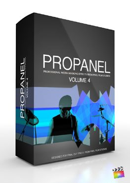 Final Cut Pro X Plugin ProPanel Volume 4 from Pixel Film Studios