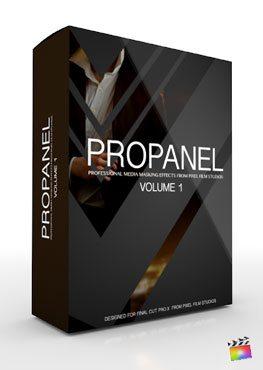 Final Cut Pro X Plugin ProPanel from Pixel Film Studios
