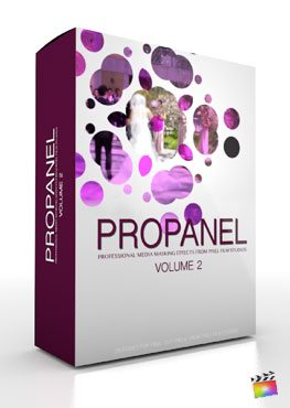 Final Cut Pro X Plugin ProPanel Volume 2 from Pixel Film Studios