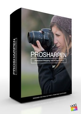 Final Cut Pro X Plugin ProSharpen from Pixel Film Studios