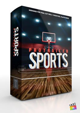 Final Cut Pro X Plugin ProTrailer Sports from Pixel Film Studios