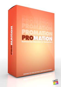 Final Cut Pro X Plugin ProMation from Pixel Film Studios