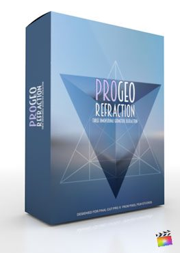 Final Cut Pro X Plugin ProGeo Refraction from Pixel Film Studios