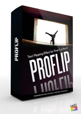 Final Cut Pro X Plugin ProFlip from Pixel Film Studios