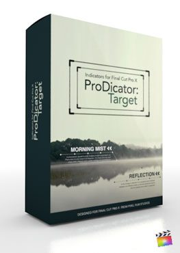 Final Cut Pro X Plugin ProDicator Target from Pixel Film Studios