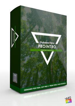 Final Cut Pro X Plugin ProIntro from Pixel Film Studios