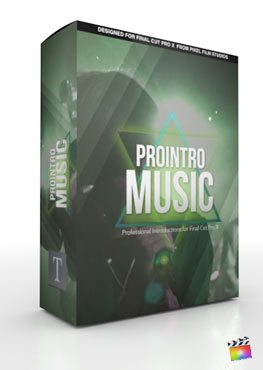 Final Cut Pro X Plugin ProIntro Music from Pixel Film Studios
