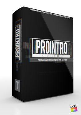 Final Cut Pro X Plugin ProIntro Glitch from Pixel Film Studios