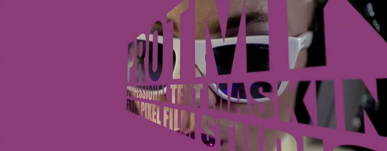 Professional - Text Mask for Final Cut Pro X - for Final Cut Pro X