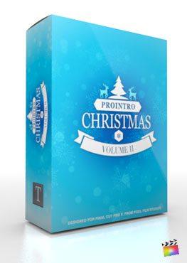 Final Cut Pro X Plugin ProIntro Christmas Volume 2 from Pixel Film Studios