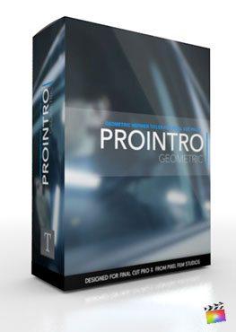 Final Cut Pro X Plugin ProIntro Geometric from Pixel Film Studios