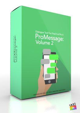Final Cut Pro X Plugin ProMessage Volume 2 from Pixel Film Studios