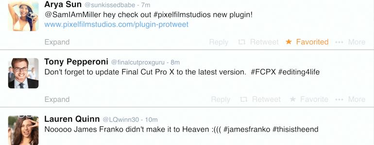 Professional - Social Media Plugin for Final Cut Pro X - for Final Cut Pro X