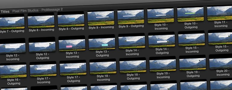 Professional - Messaging Trailer Titles - for Final Cut Pro X