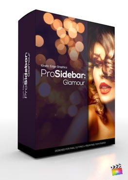 Final Cut Pro X Plugin ProSidebar Glamour from Pixel Film Studios