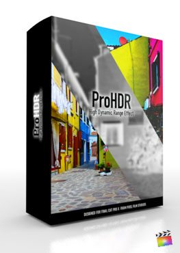 Final Cut Pro X Plugin ProHDR from Pixel Film Studios