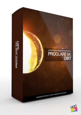 Final Cut Pro X Plugin ProGlare 5K Dirt from Pixel Film Studios