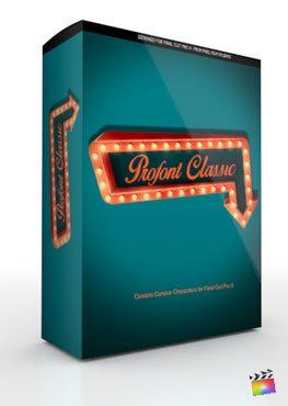 Final Cut Pro X Plugin ProFont Classic from Pixel Film Studios
