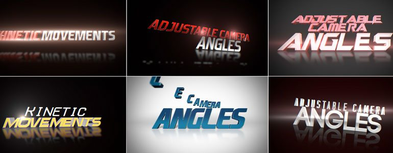 Professional - Trailer Titles - for Final Cut Pro X
