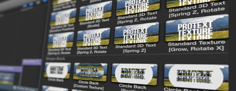 Professional - Text Animation Titles - for Final Cut Pro X