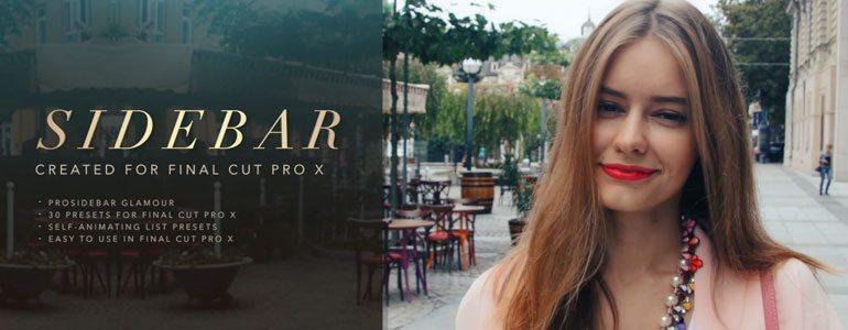Professional - Sidebar Titles - for Final Cut Pro X