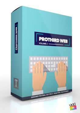 Final Cut Pro X Plugin Pro3rd Web Volume 2