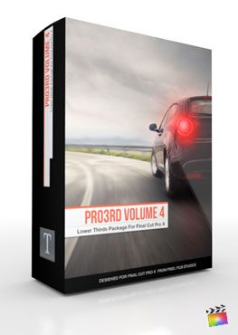 Final Cut Pro X Plugin Pro3rd Volume 4 from Pixel Film Studios